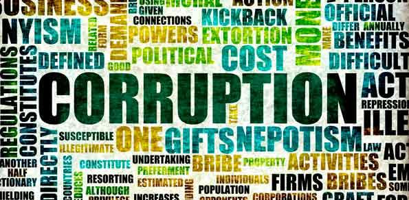 Corruption Word List