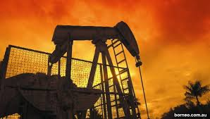 Oil production in Brunei