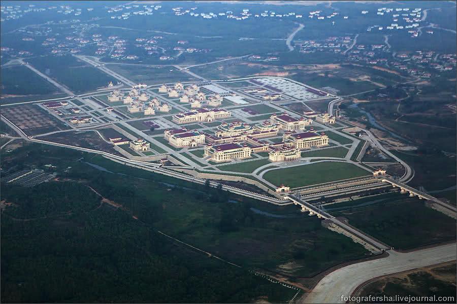 Newly build parliament, Naypyidaw