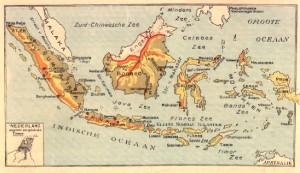 NED INDIE - kaart
