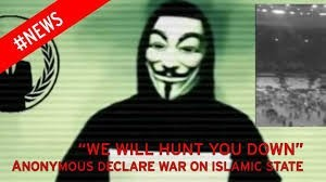 Anonymous declares war on islamic state