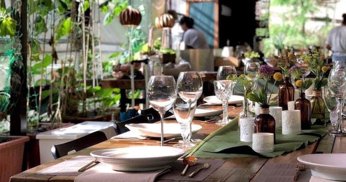 sustainable restaurant