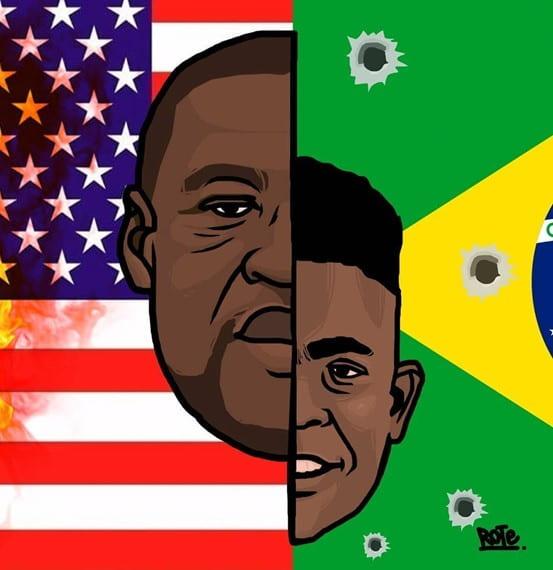 George Floyd and João Pedro
